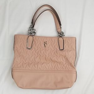 New Simply Vera Pink Catherine Tote Shoulder Bag.